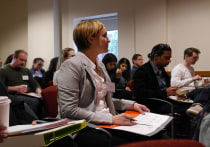 Participants learn about human rights and documenting evidence of torture and ill-treatment