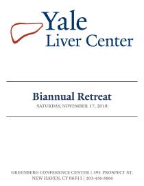 2018 Yale Liver Center Retreat