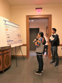 Poster session viewing
