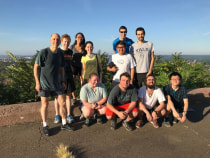 Lab Run to East Rock Summit 2018