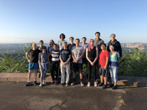 Lab Run to East Rock Summit 2019