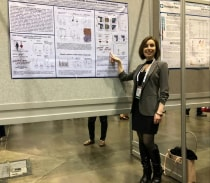 Rana's poster presentation at ASH2019