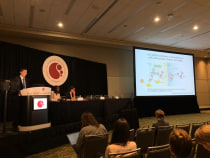 Yimeng's oral presentation at ASH 2019
