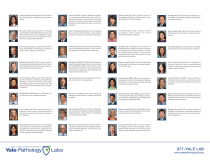 Yale Pathology Labs Calendar 2021 - Clinical Faculty page 2