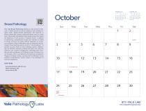 Yale Pathology Labs Calendar 2021 - October - Breast Pathology