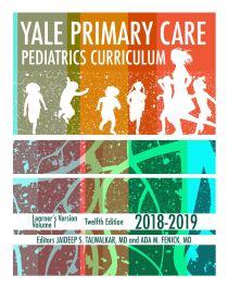 Yale Primary Care Pediatrics Curriculum 2018-2019 cover