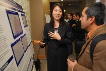 Public health student and Downs fellow Lesley Park studied HIV transmission in Thailand.