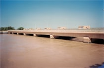 The Diama dam in Senegal