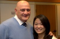 Jessica Chen interviewed John Uliano, a security guard at Smilow Cancer Hospital.