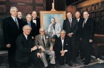 Paul Beeson and nine of his former residents