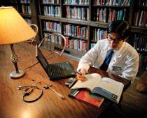 Linus Sun, a third-year student