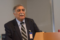 The relationship between health and human rights is a new area of inquiry, said Asghar Rastegar.