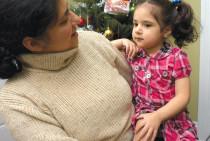 Angela Irizarry with her mother Claudia