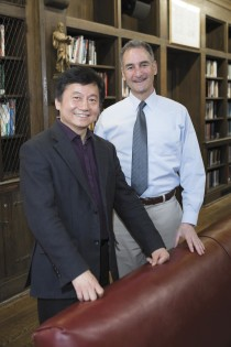 Haifan Lin also was elected in March to the American Academy of Arts and Sciences, together with Gerald Shulman.