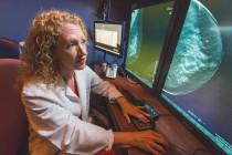 Liane Philpotts uses digital breast tomosynthesis