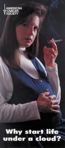 pregnant smoking ad