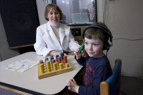 Conditioned Play Audiometry with Pediatric Patient