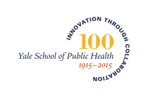 The Yale School of Public Health's official centennial logo.