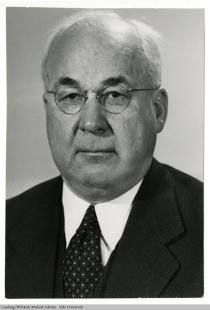 Ira V. Hiscock, Chairman of the Department of Public Health, 1945-1960