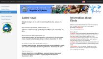 EBOLA WEB APP