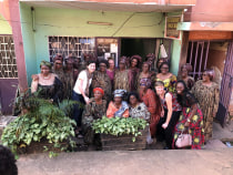 Group picture with Cameroonian ladies