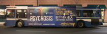 Bus Advertisements for Early Detection campaign hosted by STEP Program