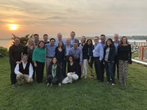 25th Reunion Dinner at the Home of Bonnie Gould Rothberg, June 1, 2019