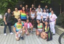 YSM NYC Pride March gathering