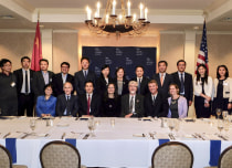 Signing Ceremony Yale School of Public Health, National Cancer Center of China