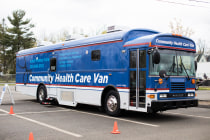 Yale's Community Health Care Van