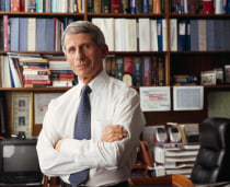 Anthony S. Fauci, MD, director of the National Institute of Allergy and Infectious Diseases