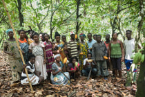 A section of Cocoa360 farmers
