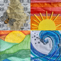 Unity, Peace and Healing Flags