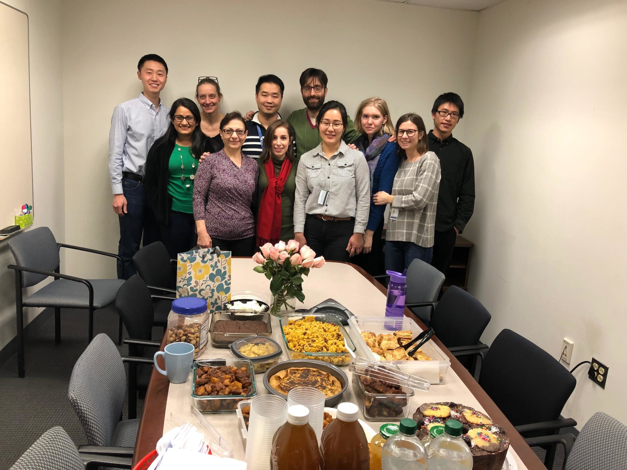 Xiaoying's goodbye January 2019