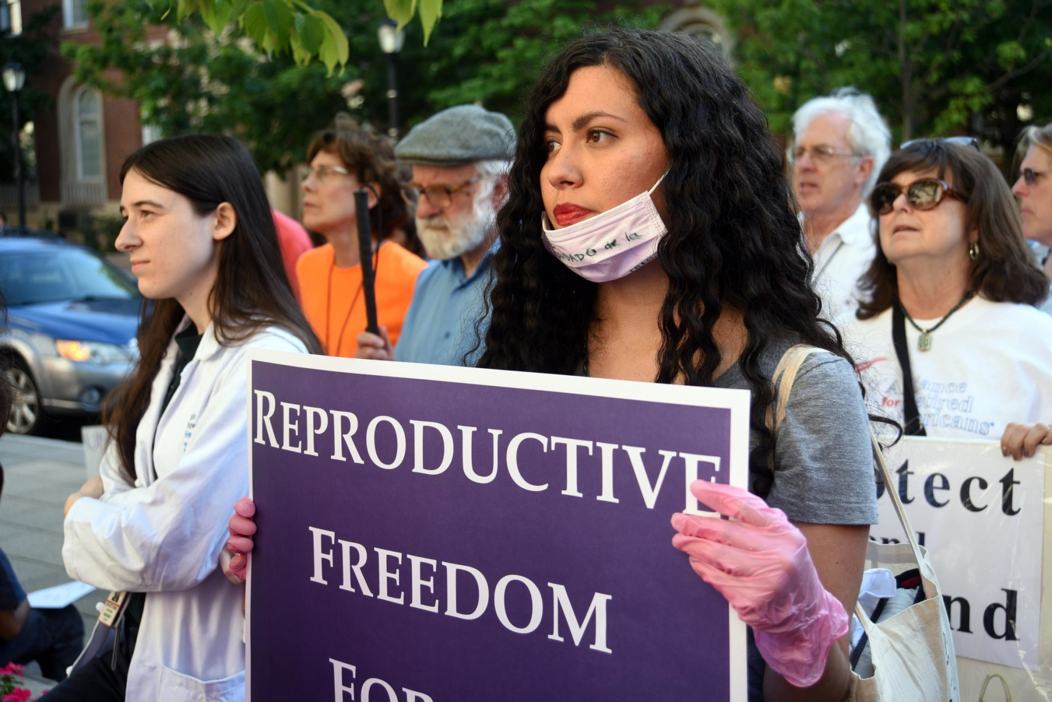 Participants came in support of a broad range of issues, from health care to abortion rights.