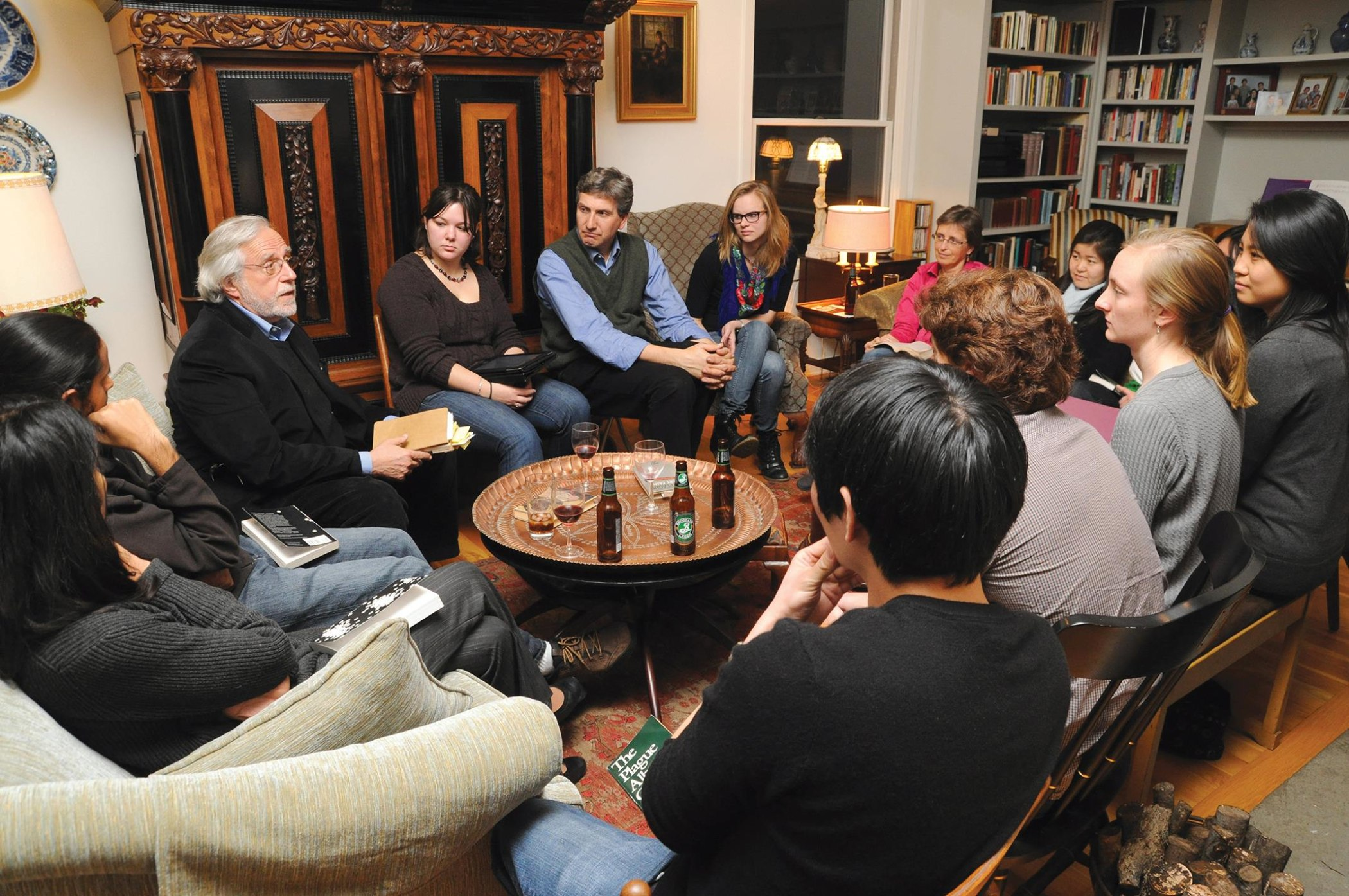 Literary salons for medical students
