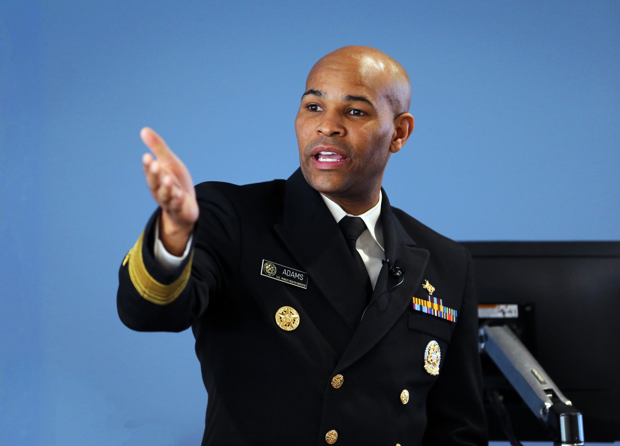 U.S. Surgeon General Jerome Adams