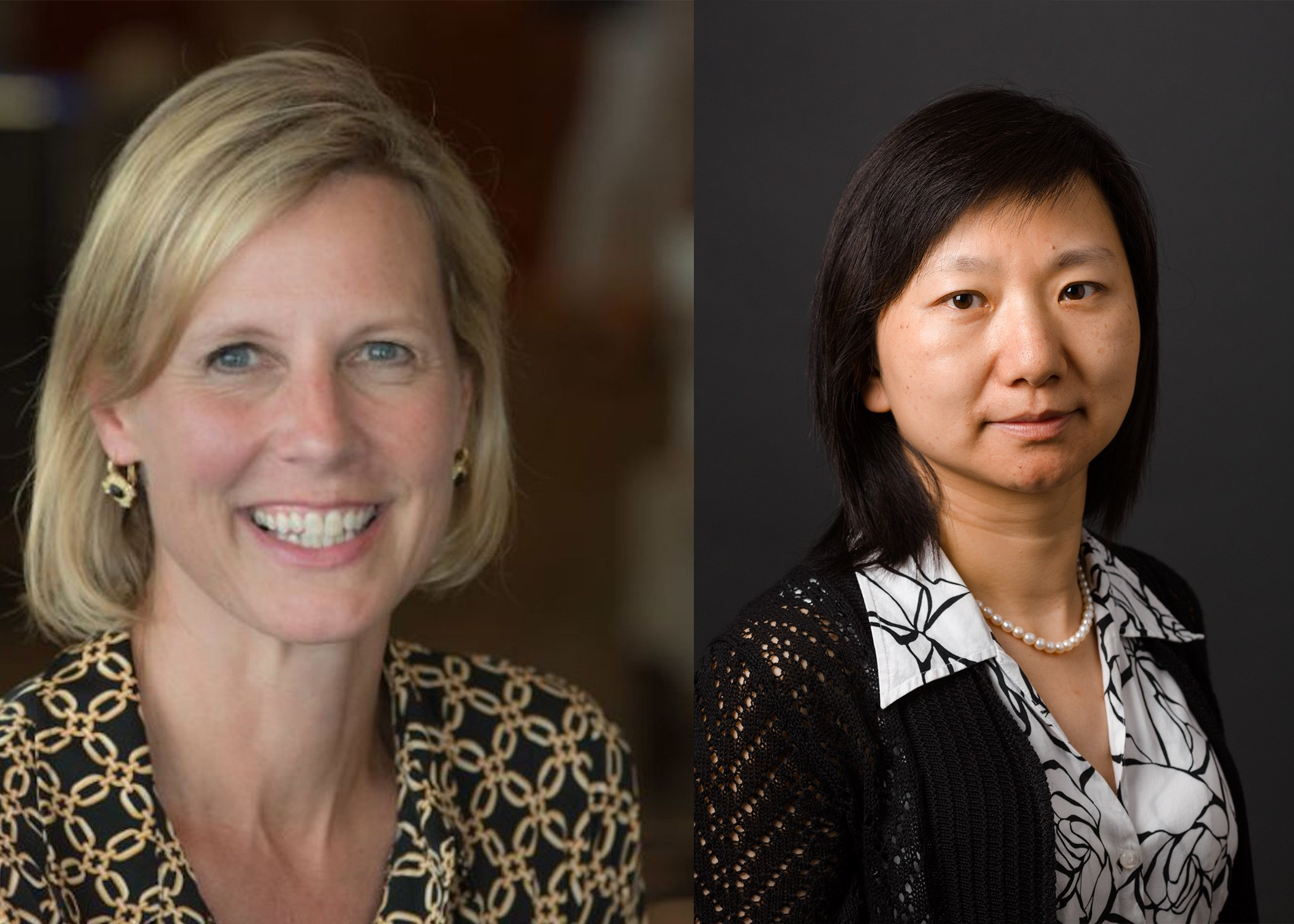 Left to right: Melinda Irwin, PhD, MPH; Xiaomei Ma, PhD