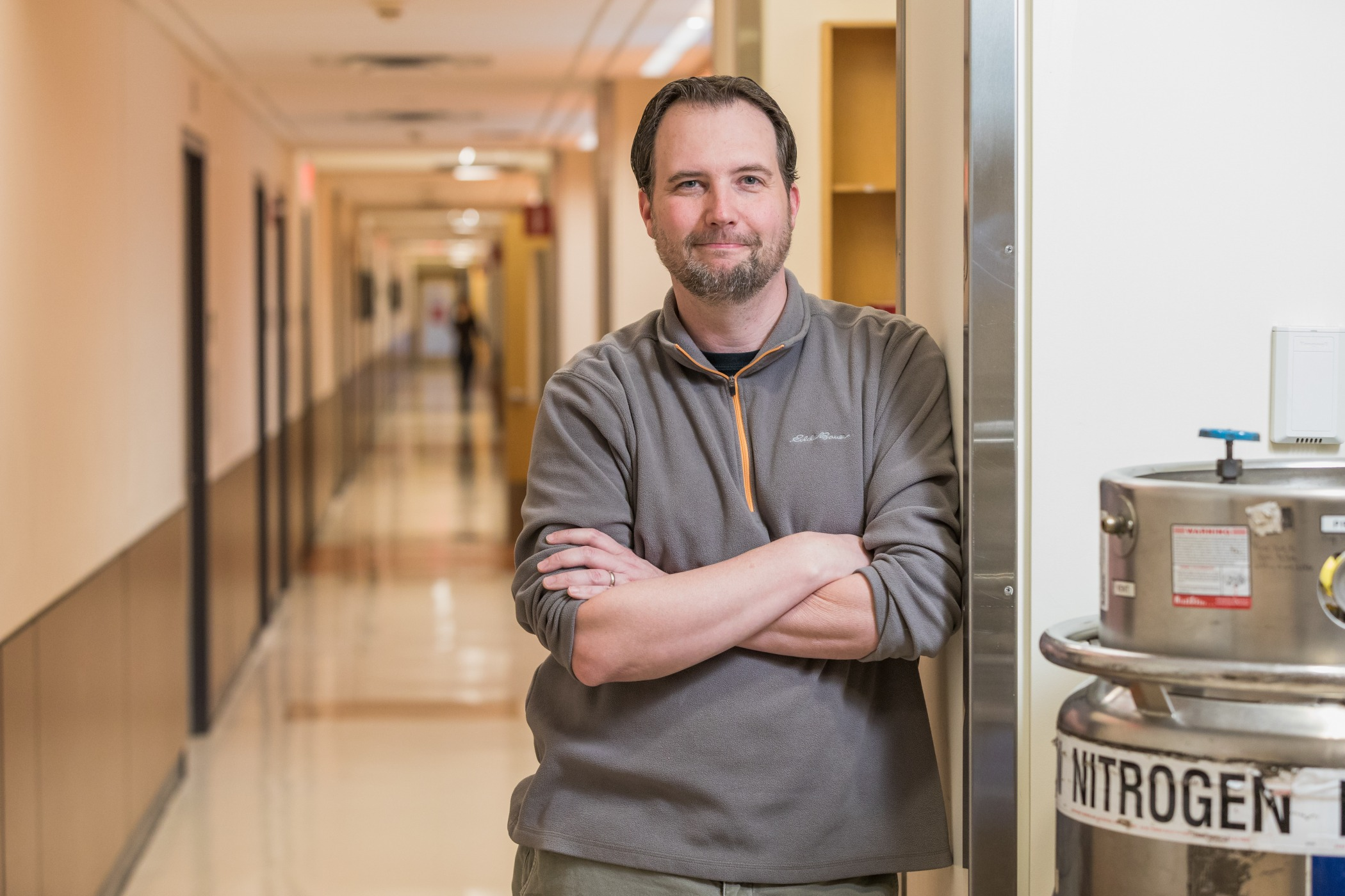 Jason Thomson at the Yale Stem Cell Center