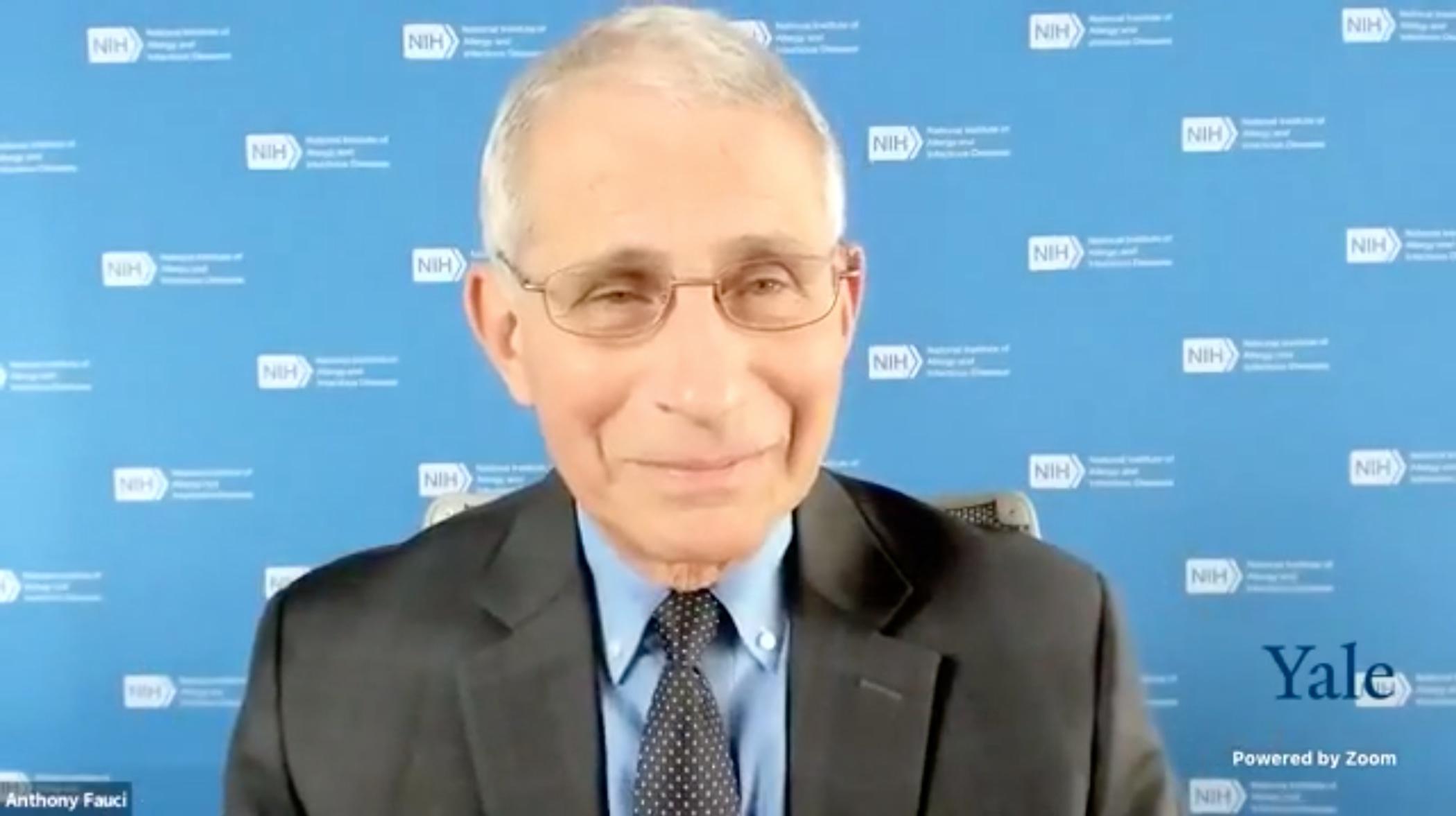 Dr. Fauci providing COVID-19 Updates