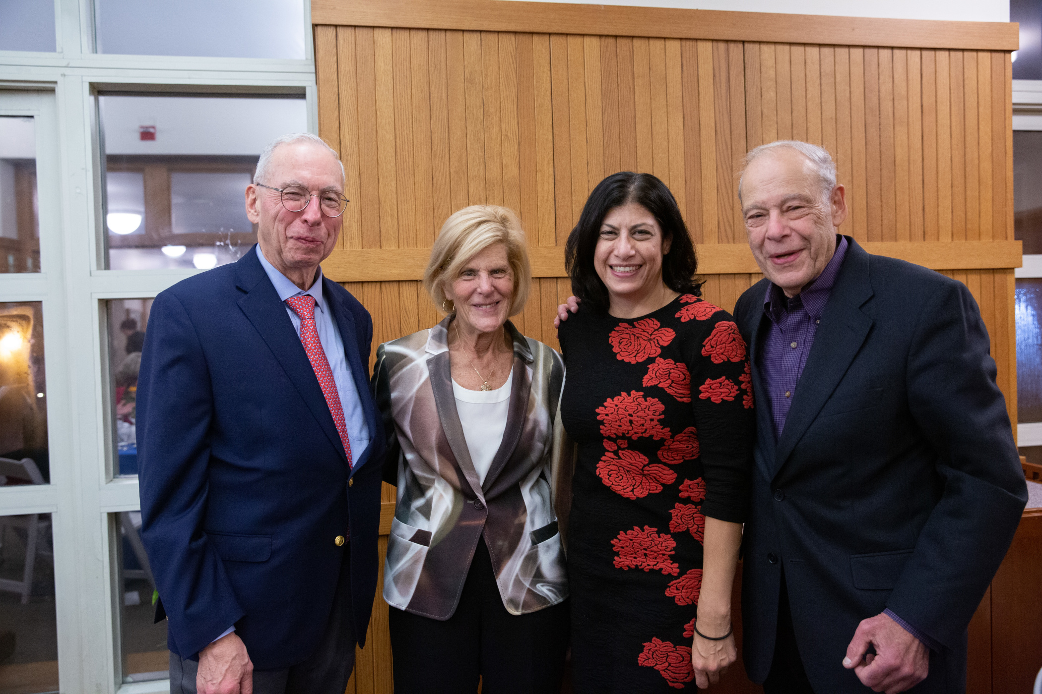 Peter E. Schwartz, MD,  Arlene Schwartz, Laurie Ginor and Igal Staw, MD