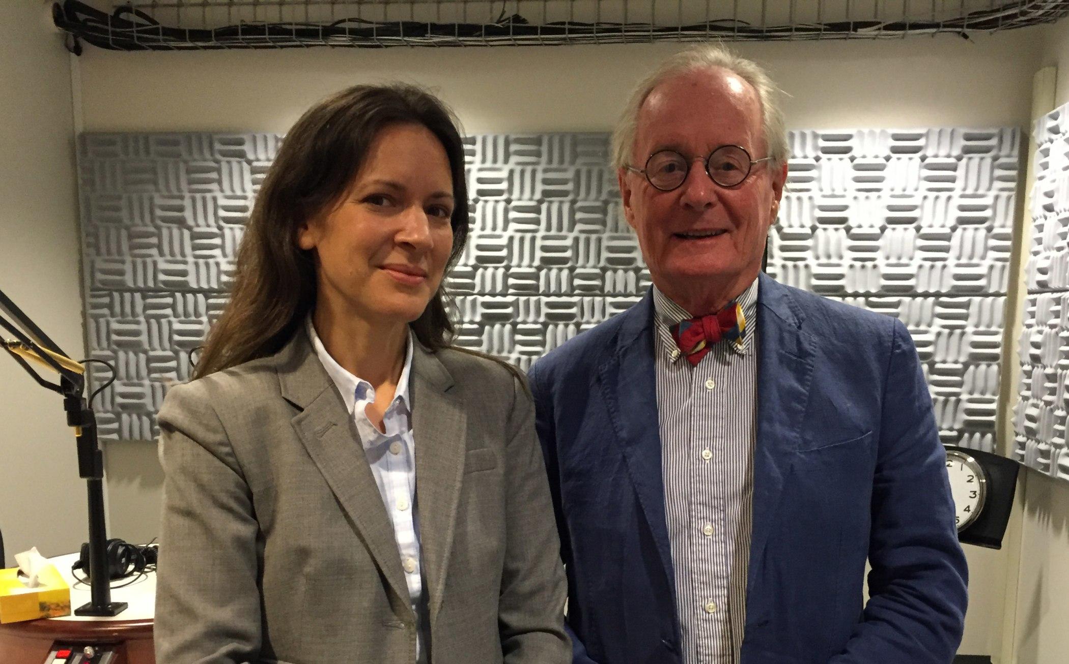 Lydia Dugdale (l) and Thomas P. Duffy (r)