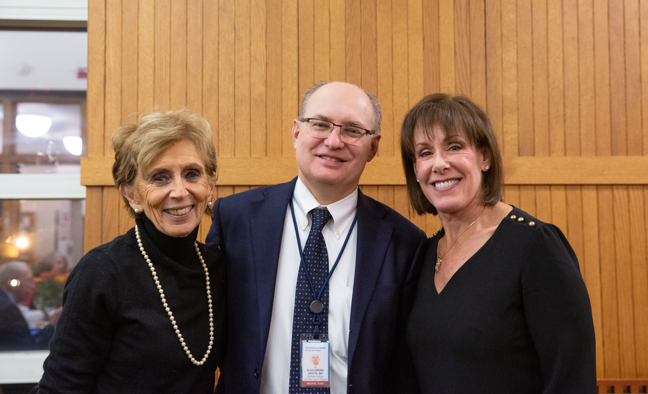Mary Digioia, Alessandro Santin, MD and Barbara Bender