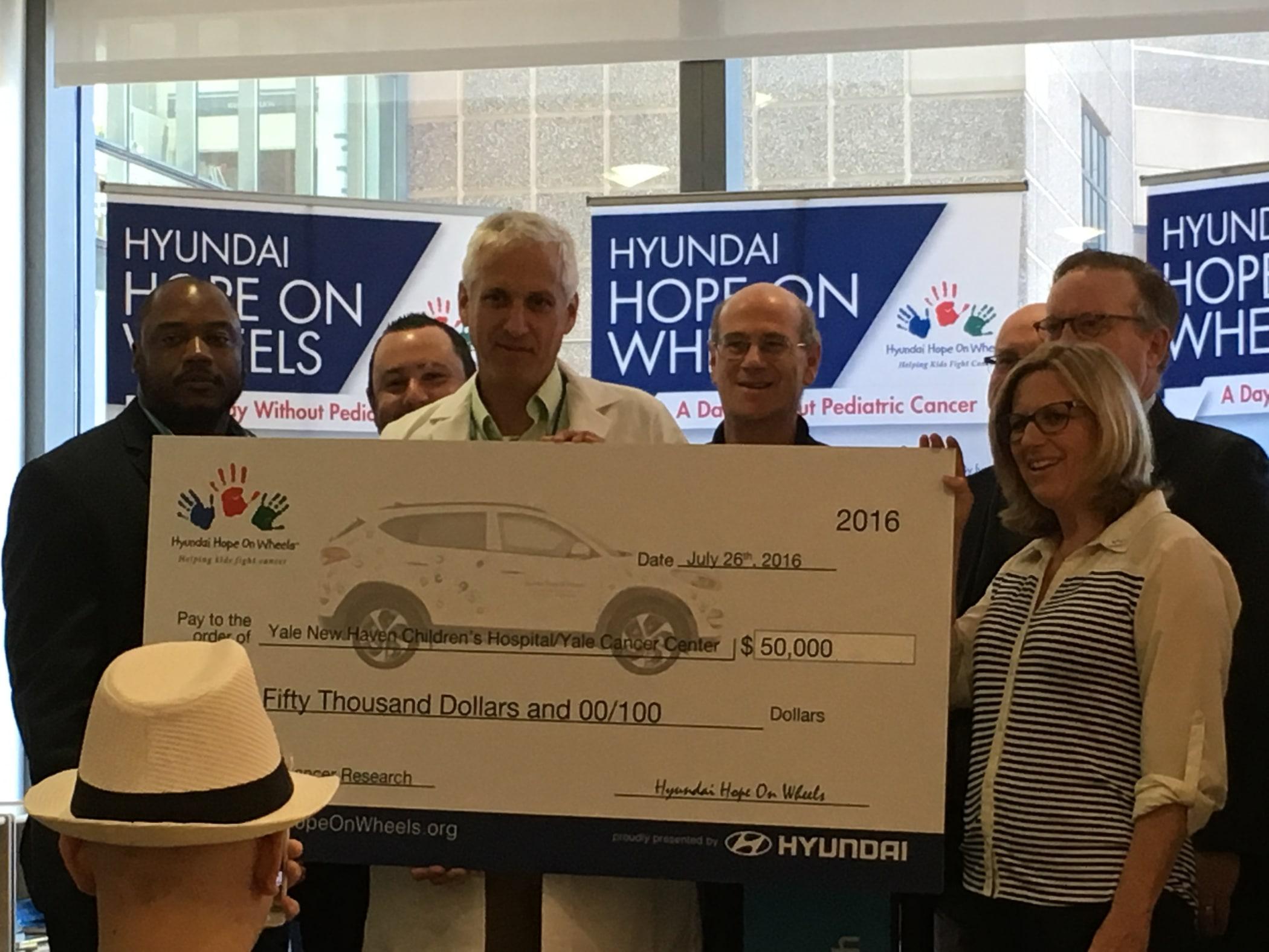 Hyundai Hope On Wheels Impact Grant Ceremony