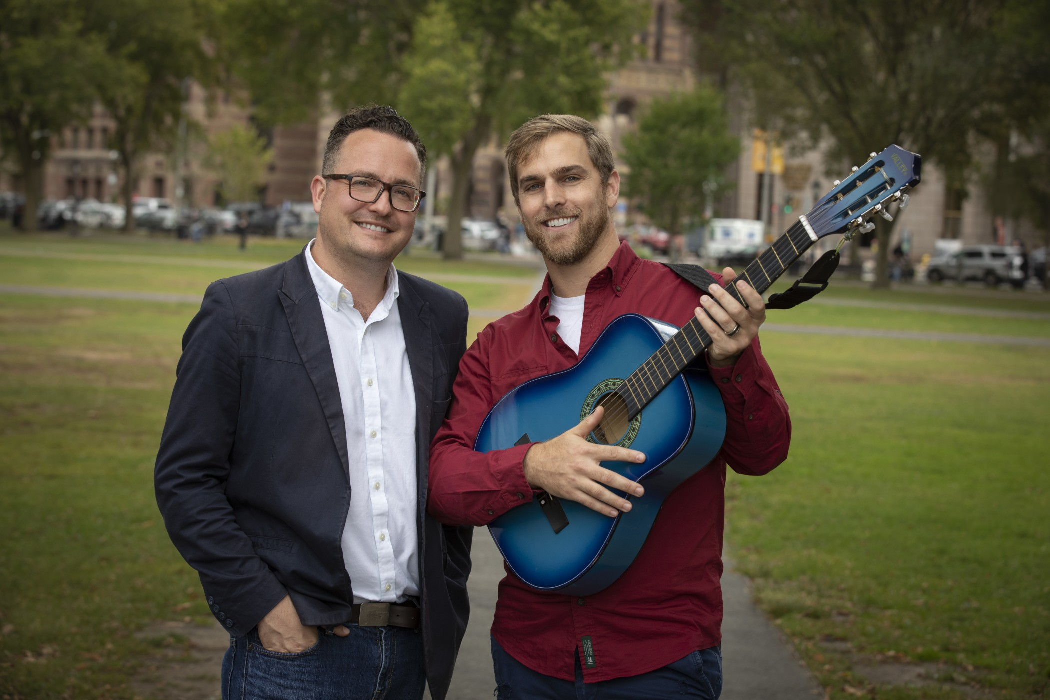 SING collaborators on the New Haven Green