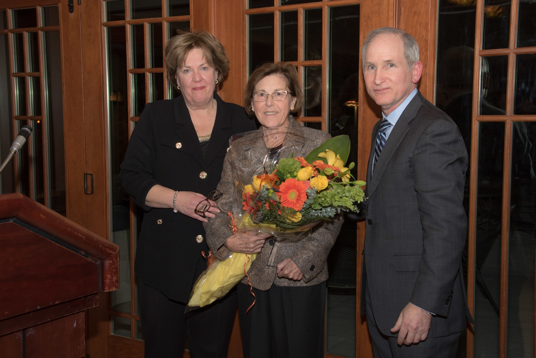 Cathy Lyons, Ruth McCorkle, Charles Fuchs