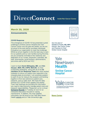 cover of DirectConnect March 20, 2020