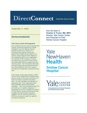 Direct Connect cover - Sept. 7, 2018