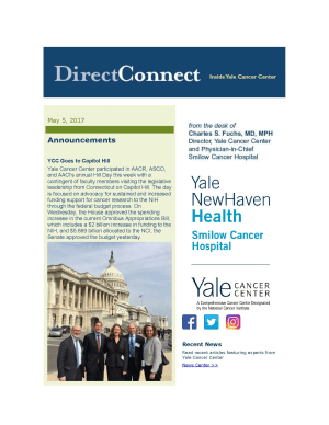 DirectConnect Newsletter May 5, 2017