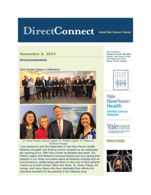 cover of directconnect newsletter